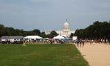 Past the Christian group on the Mall
