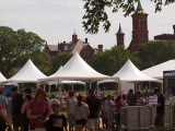 Buildings of the Smithsonian in the background
