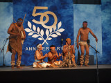 Performers from Botswana