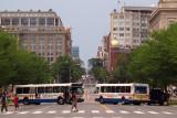 DC street through the Mall