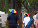 Little Umbrellas attached to head