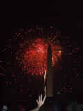 And the fireworks start