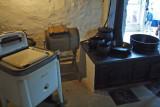 In the summer kitchen