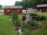 The water pump in the Amish Village