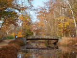 Bridge at Anglers Inn in the Fall