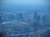 Daybreak over Frankfurt