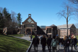 On to the dining hall