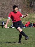 Taking the penalty kick