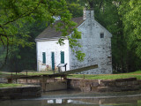 Pennyfield lock and lockhouse