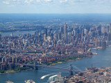 Williamsburg Bridge with Midtown Manhattan in the background