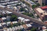 Train on a NYC Subway line