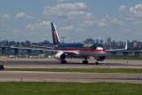 Trump's 757 at Laguardia