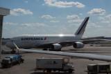 Air France A380 at JFK