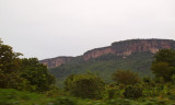 Impressive escarpments