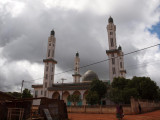 The town's central mosque