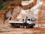 Working in the quarry