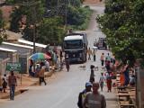 Main road through Dalaba