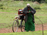 The old man and his bicycle