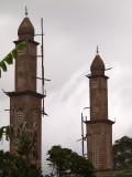 The minarets up close