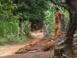 Pathway through the village