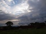 Sky before sunset
