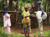 She gave Djouma a few mangoes