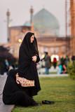 Two women - Naqsh-e Jahan Square, Esfahan