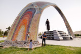 Rudaki Statue - Dushanbe
