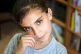 Girl in refugee camp - Jerusalem