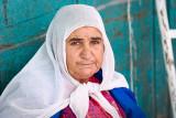 Woman in market - Jerusalem