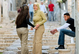 Impressing the ladies - Jerusalem