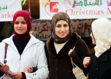 Muslims enjoying Christmas