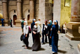 Muslim women Christian church - Jerusalem