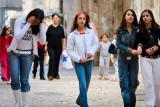 Palestinian girls - Jerusalem