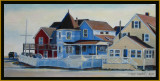 Brant Rock Cottages - by Dana Malcolm