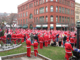 NEW BEDFORD SANTA RACE
