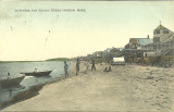 Cottages and Beach - Green Harbor