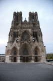 Reims Catheral without the tourists!