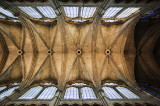 Ceiling of the nave of Reims Cathedral