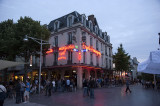 Evening scene on Place Drouet d'Erlon in Reims