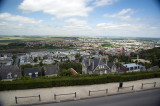 Looking down onto the Low Town of Laon