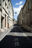 Laon High Town near Cathedral