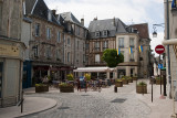 Square near Laon Cathedral