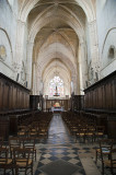 Nave at Abbaye St Martin in Laon