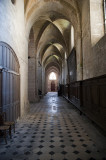 North aisle Abbaye St Martin in Laon