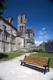 South aspect of Abbaye St Martin in Laon