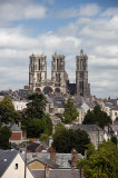 Towers of Laon Cathedral