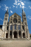 Basilique St Remi west front