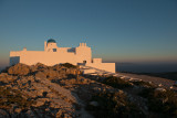 Sunrise at the monastery of St. Simeon