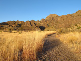 Soledad (Bar) Canyon Trail in Organ Mountains
